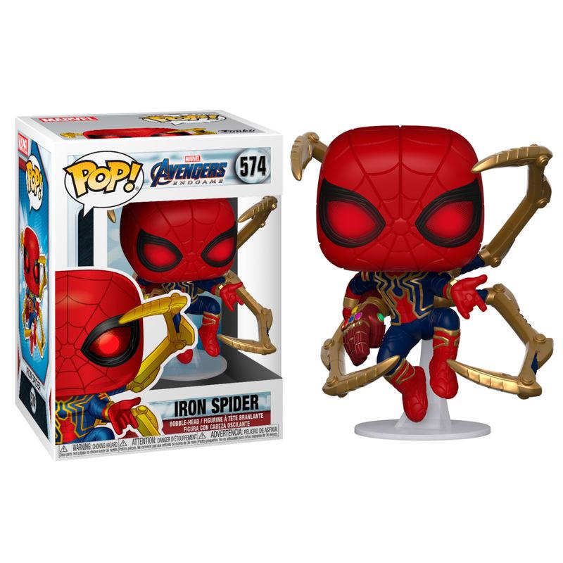Figura POP Marvel Avengers Endgame Iron Spider with Nano Gauntlet