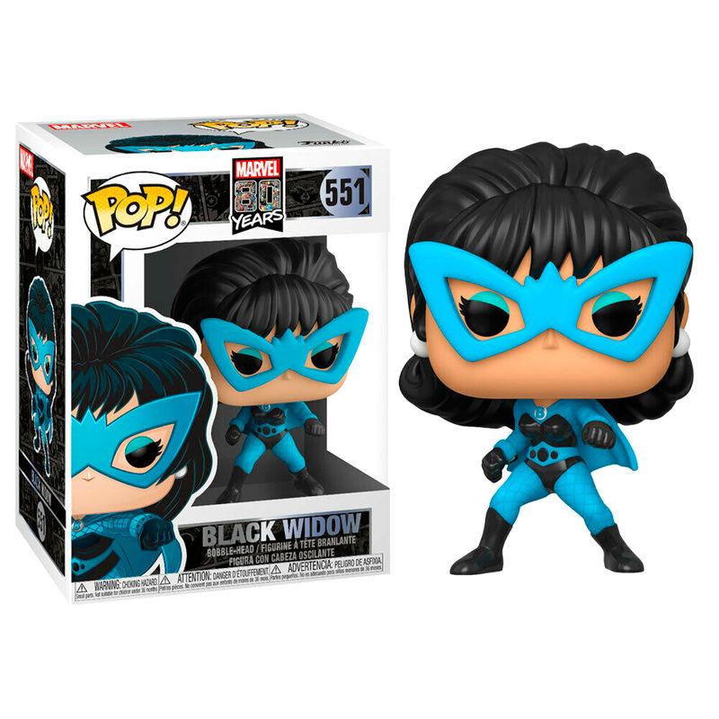 Figura POP Marvel 80th First Appearance preto Widow