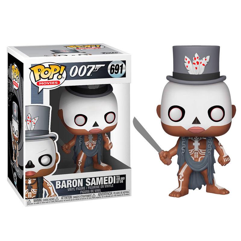 Figura POP James Bond Baron Samedi serie 2
