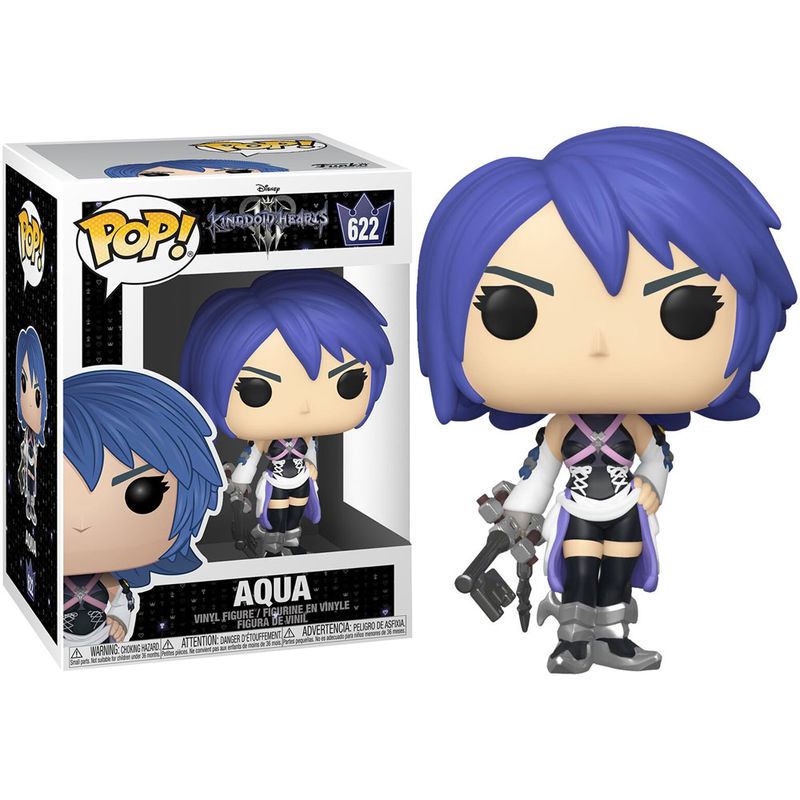 Figura POP Disney Kingdom Hearts Corações 3 Aqua