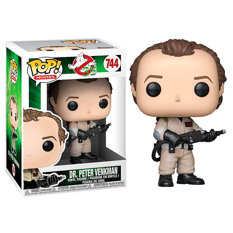 Figura POP Ghostbusters Dr. Peter Venkman