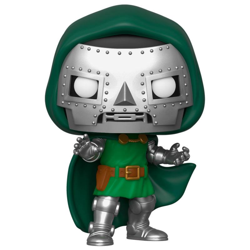 Figura POP Marvel Los 4 Fantásticos Doctor Doom