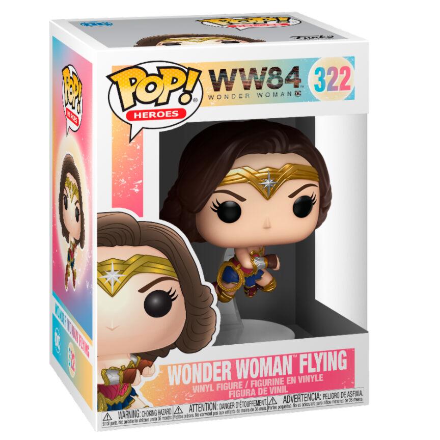 Figura POP DC Comics Wonder Woman 1984 Wonder Woman Flying