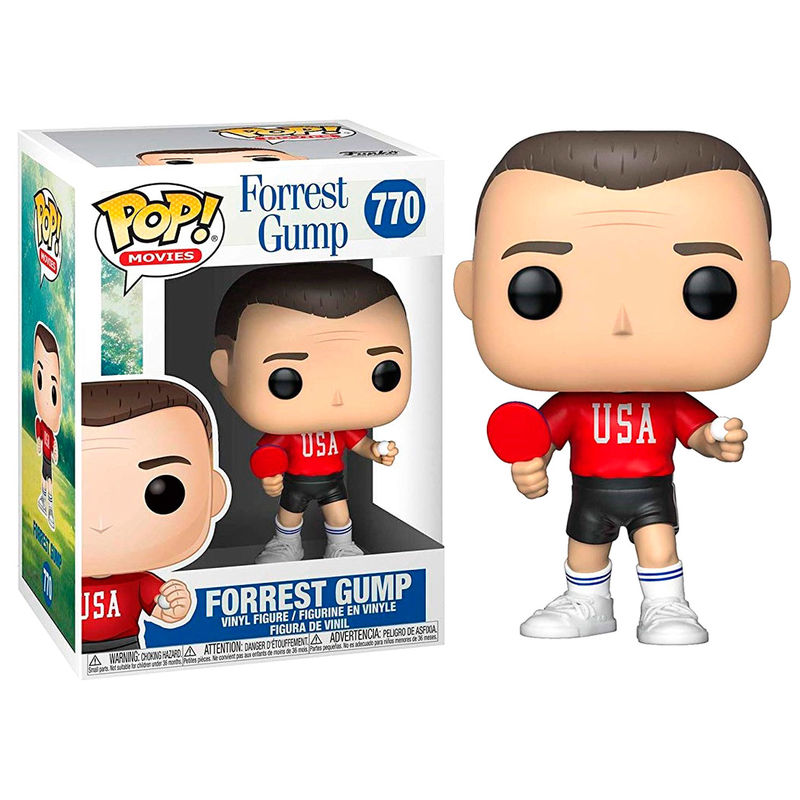 Figura POP Forrest Gump Forrest Ping Pong Outfit