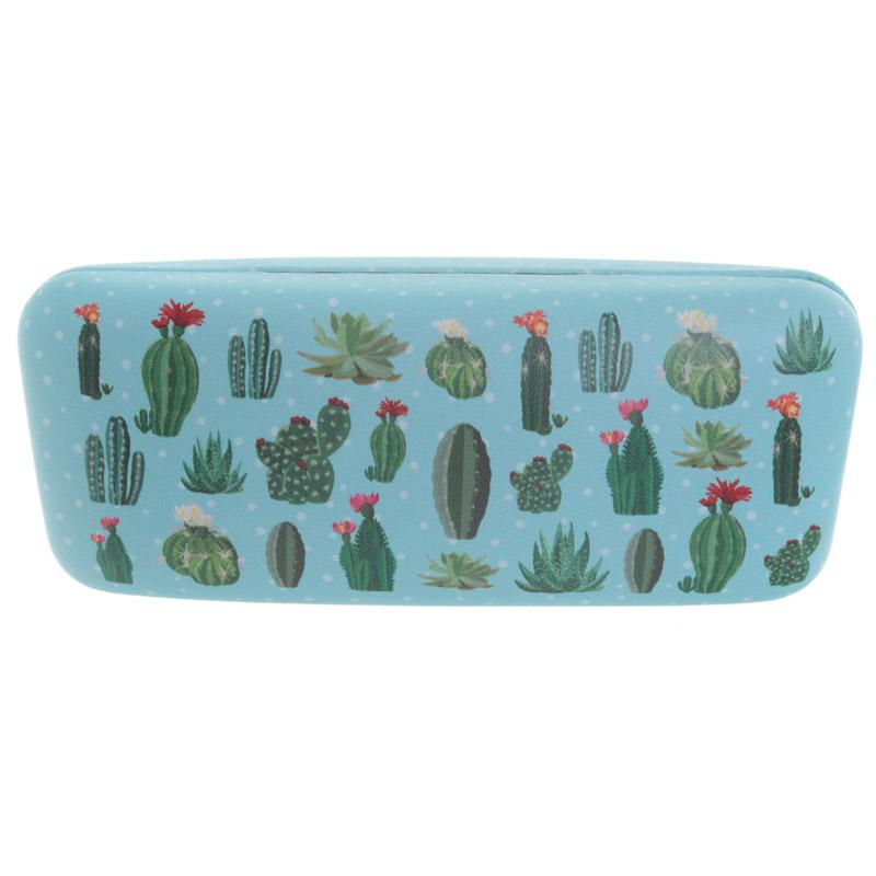 Caixa para Óculos - Desenho Cactus