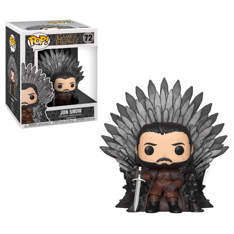 Figura POP Game of Thrones Jon Snow Sitting on Throne