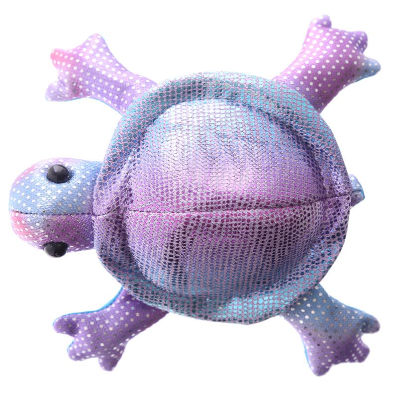 Tartaruga enchida com areia, pequena