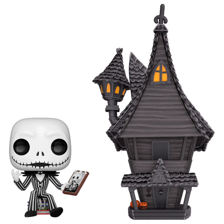 Figura POP Disney O estranho mundo de Jack The Nightmare before Christmas Jack with Jacks House