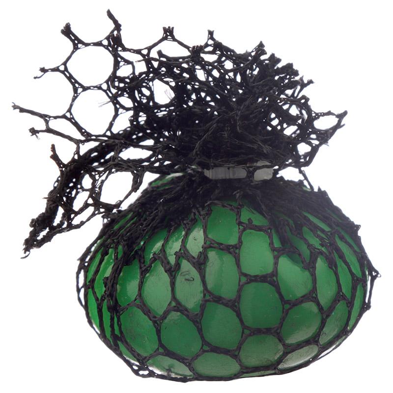Bola de apertar às cores em rede