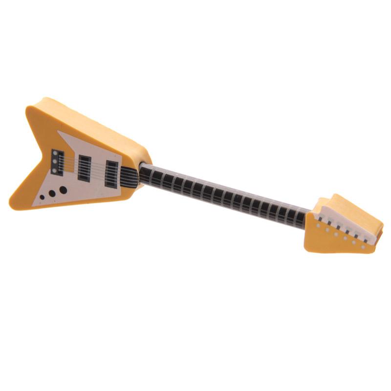 Conjunto lápis & Borracha Guitarra de Rock