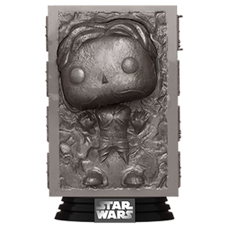 Figura POP Star Wars Han in Carbonite