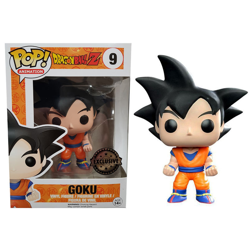 Figura POP Dragon Ball Z preto Hair Goku Exclusive