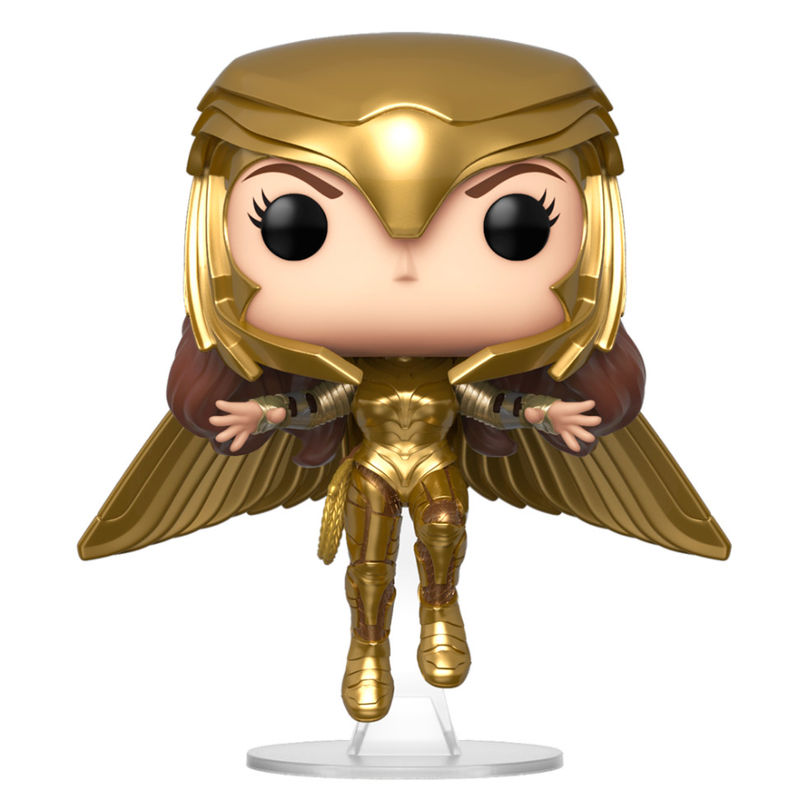 Figura POP DC Wonder Woman 1984 Wonder Woman Gold Flying Pose