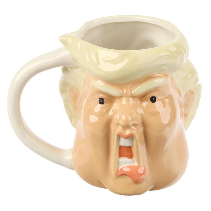 Caneca forma cabeça Presidente