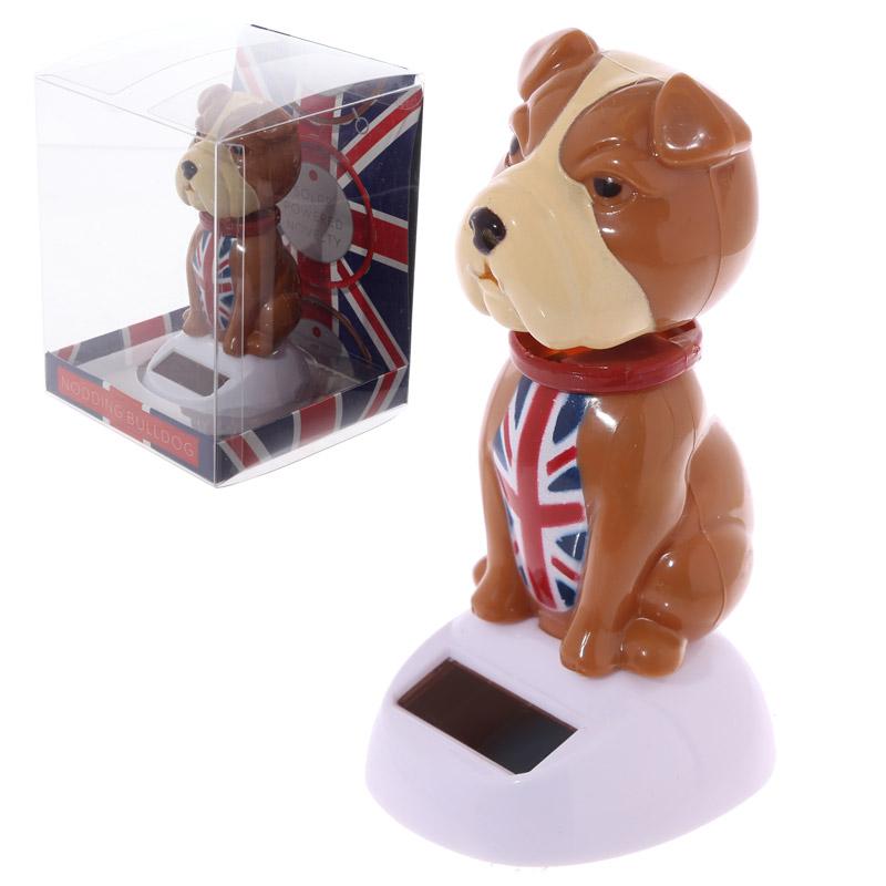 Boneco Solar - Bulldog Reino Unido