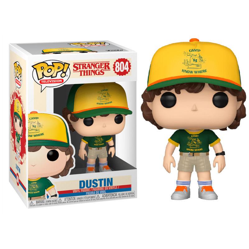 Figura POP Stranger Things 3 Dustin At Camp