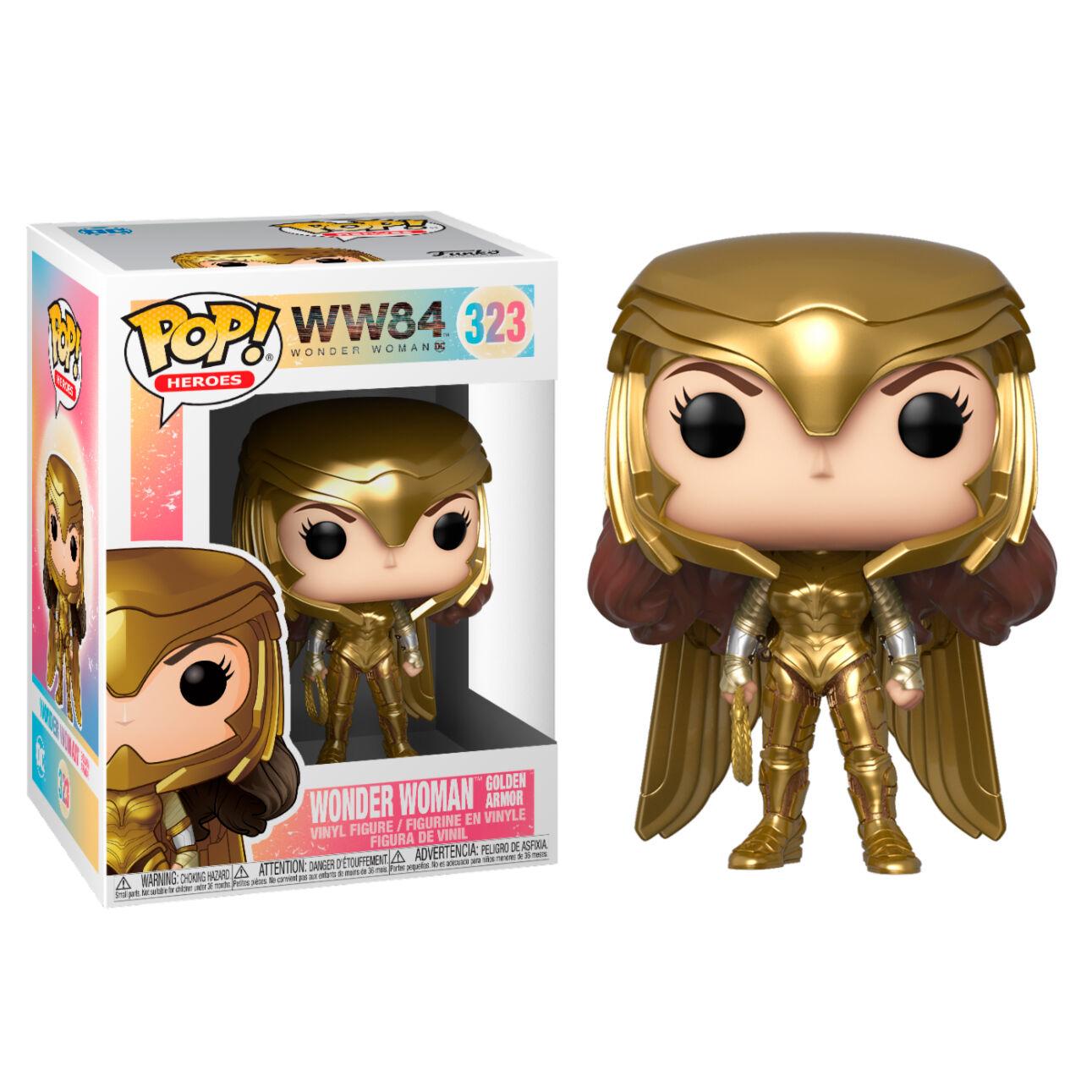 Figura POP DC Wonder Woman 1984 Wonder Woman Gold Power Pose