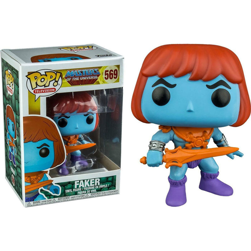 Figura POP Master Of The Universe Faker Exclusive