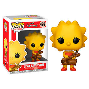 Figura POP Simpsons Lisa
