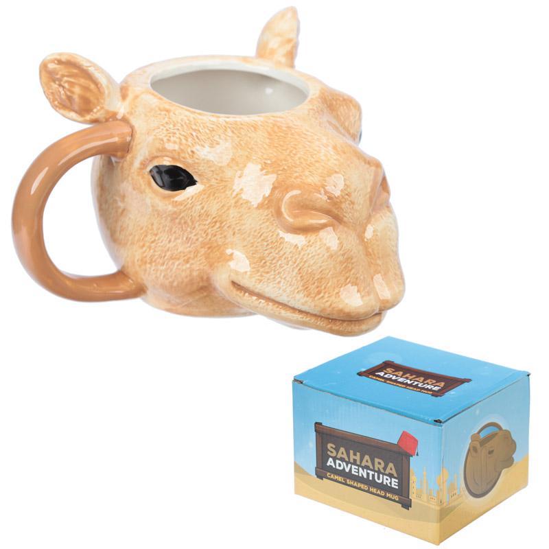 Caneca cabeça de camelo