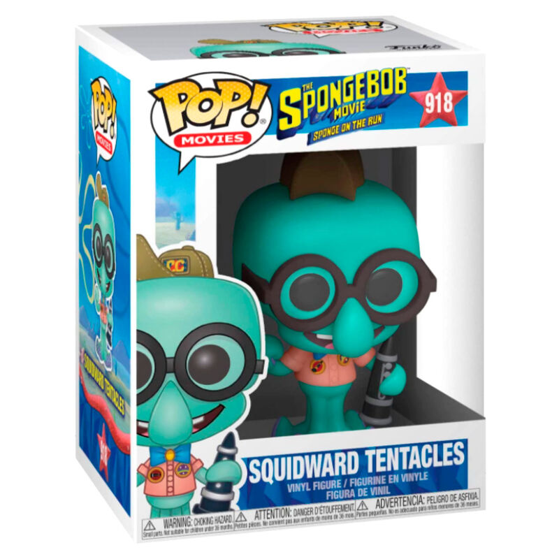 Figura POP Sponge Bob Squidward in Camping Gear