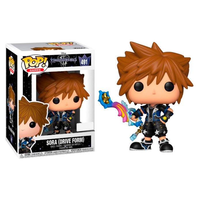 Figura POP Disney Kingdom Hearts Corações 3 Sora Drive Form Exclusive