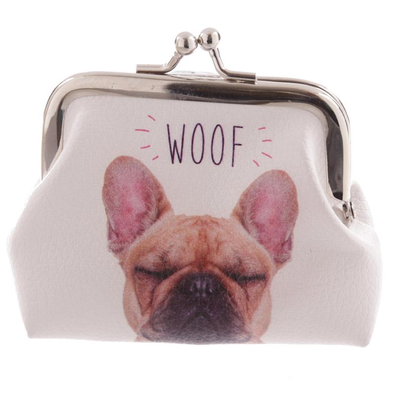 Porta-moedas Gato MEOW e cão WOOF
