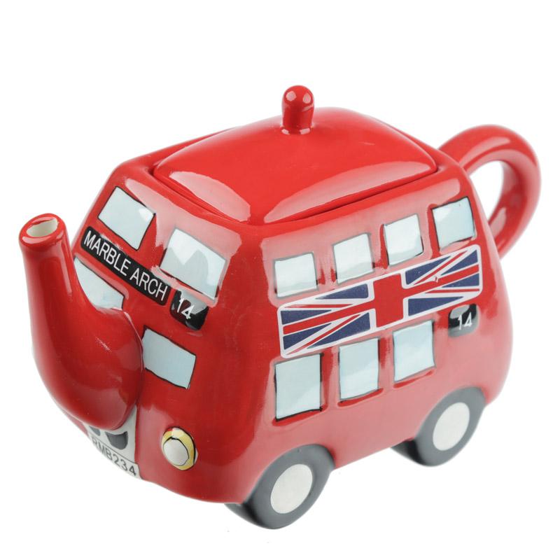 Bule de Chá Autocarro de Londres
