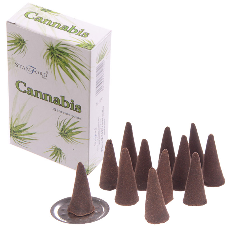 Cones de Incenso Stanford- Cannabis