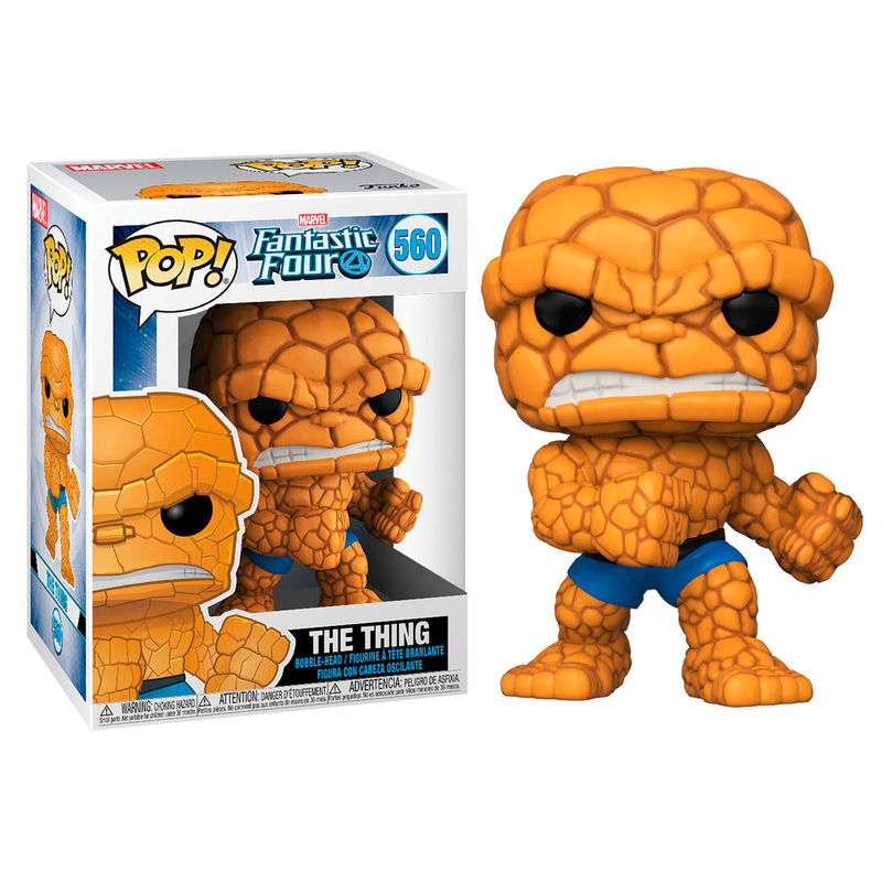 Figura POP Marvel Los 4 Fantásticos The Thing