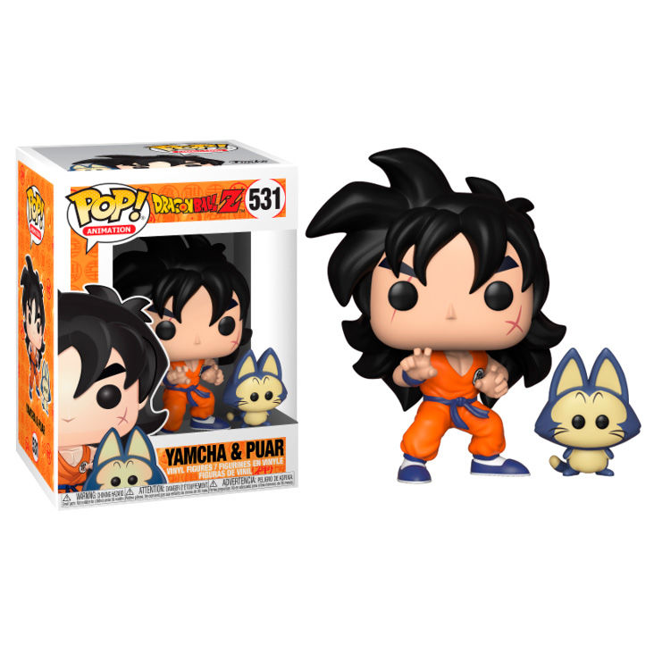 Figura POP Dragon Ball Z Yamcha & Puar