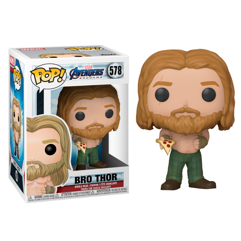 Figura POP Marvel Avengers Endgame Thor with Pizza