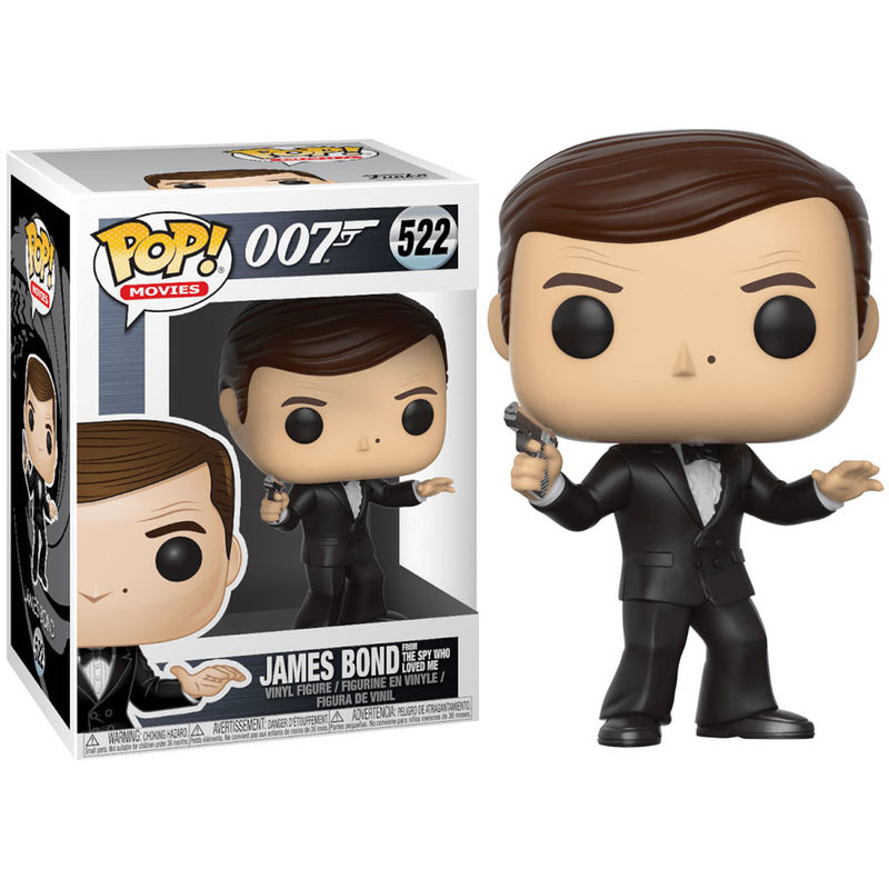 Figura POP James Bond 007 Roger Moore