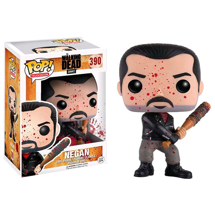 Figura POP The Walking Dead Negan Bloody Exclusive