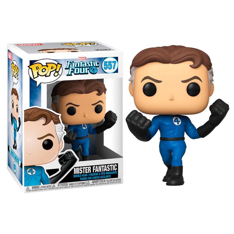 Figura POP Marvel Los 4 Fantásticos Mister Fantastic