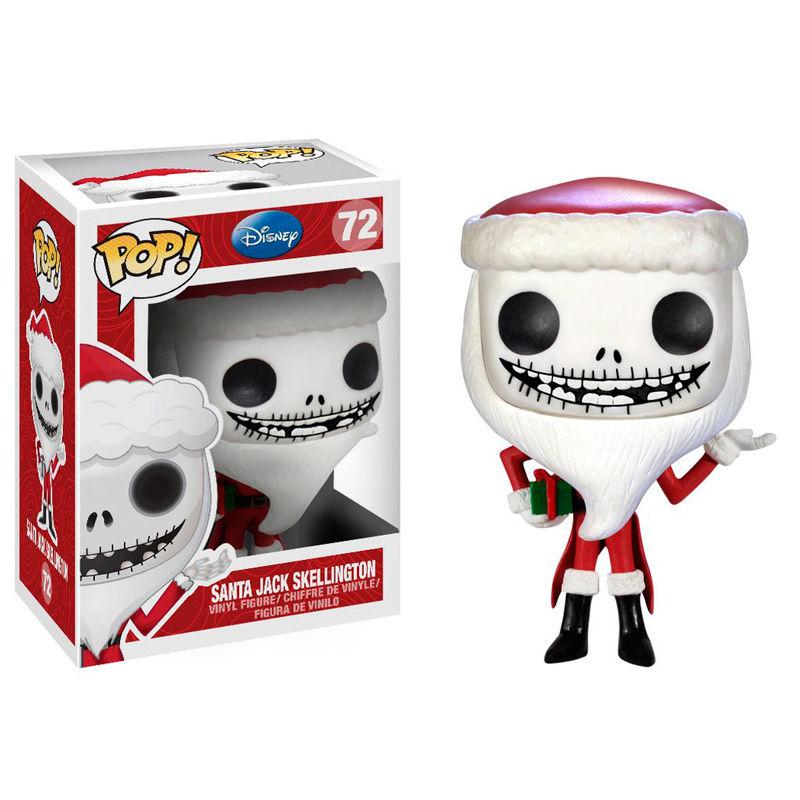 Figura POP NBX O estranho mundo de Jack The Nightmare before Christmas Santa Jack Skellington