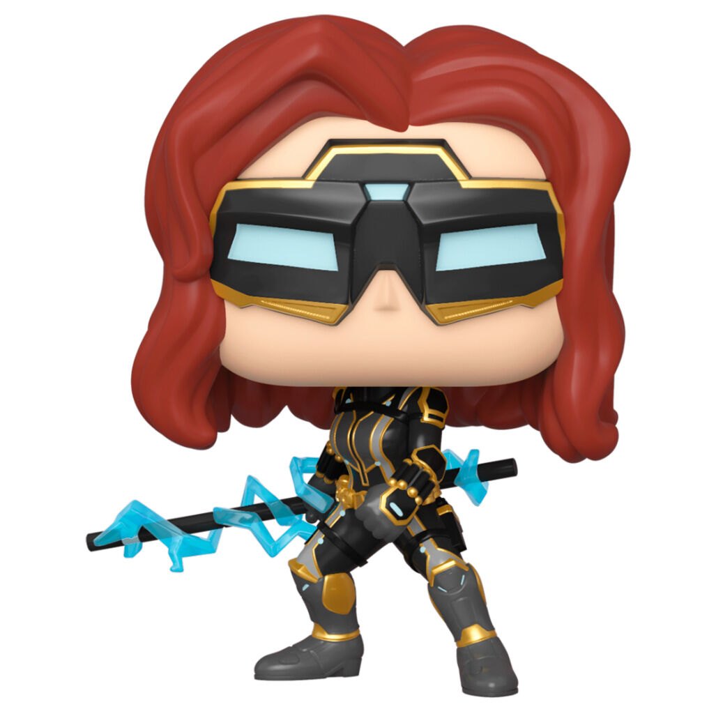 Figura POP Marvel Avengers Game Black Widow Stark Tech Suit