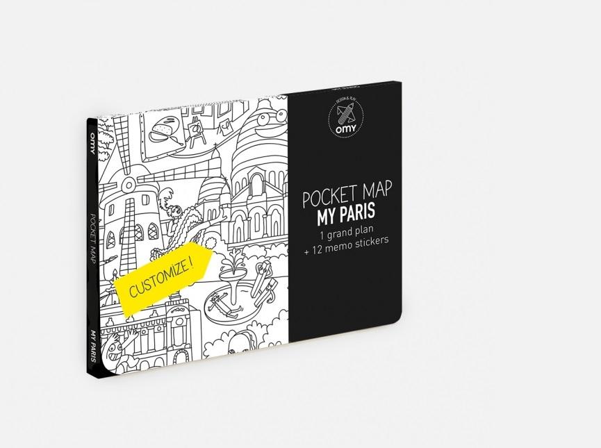 Mapas para colorir (Pocket)