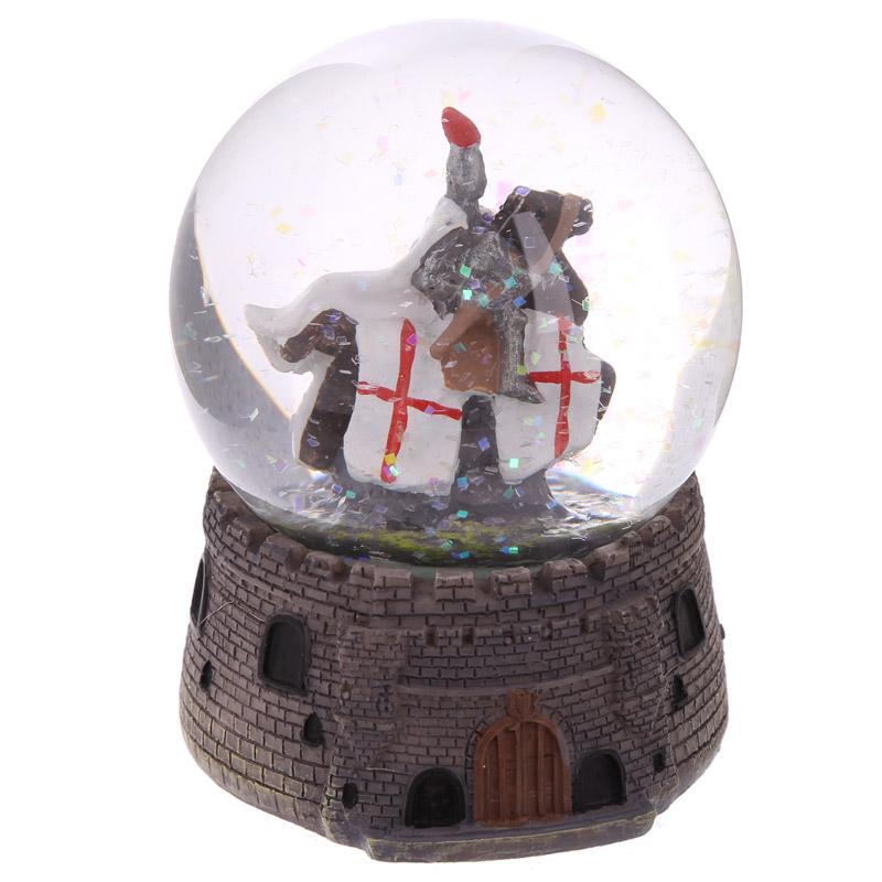 Globo de neve Cavaleiro a cavalo