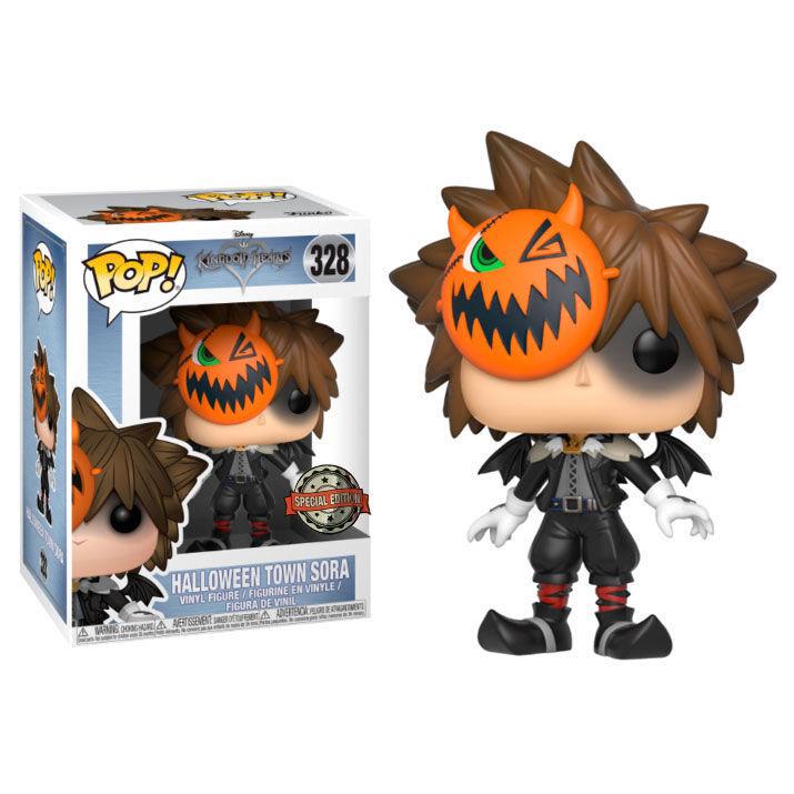 Figura POP Kingdom Hearts Corações Halloween Town Sora Exclusive