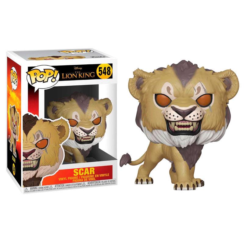Figura POP Disney O Rei Leão Scar