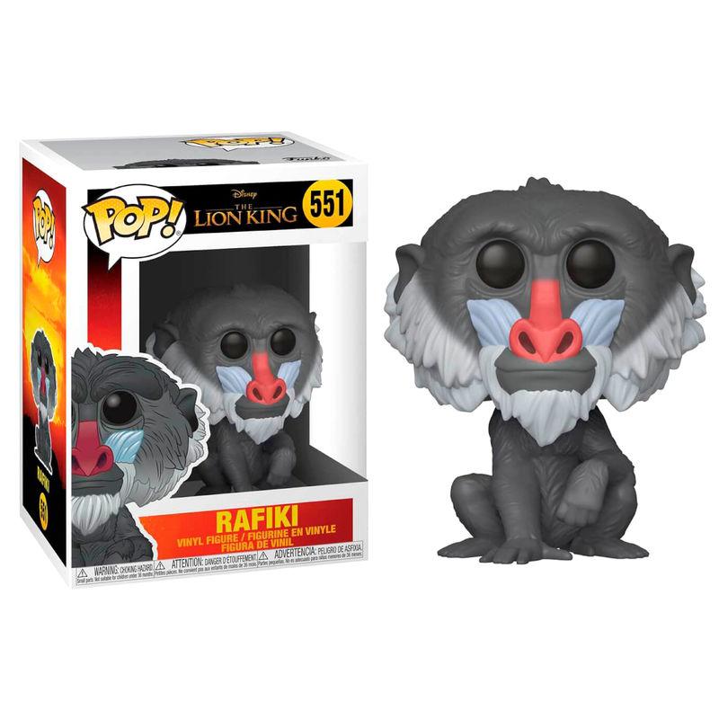 Figura POP Disney O Rei Leão Rafiki