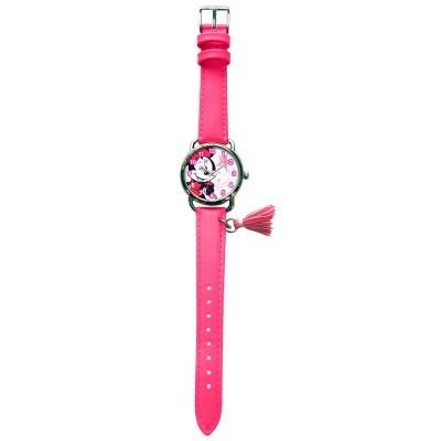 Relógio analógico pendente Minnie Disney