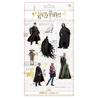 Conjunto 8 magnéticos personagens Harry Potter
