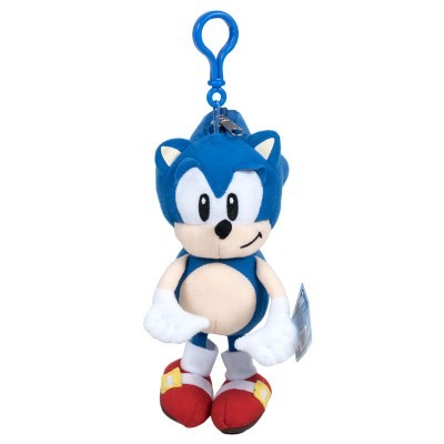 Peluche Porta-chaves Sonic The Hedgehog 20cm