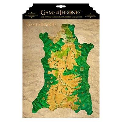 Mapa magnético Westeros Game of Thrones