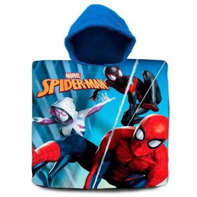 Poncho Toalha Spiderman Marvel algodão