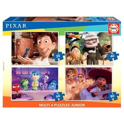Puzzle Ratatouille + Up + Inside Out +Coco Disney Pixar 20-40-60-80pcs
