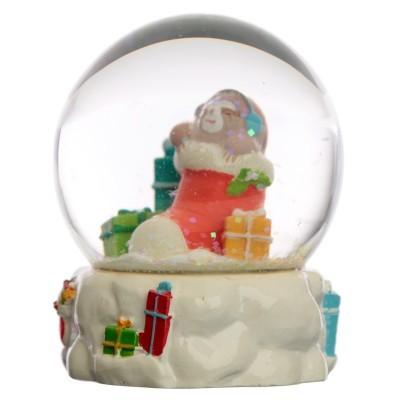 Globo de Neve - Preguiça - Natal