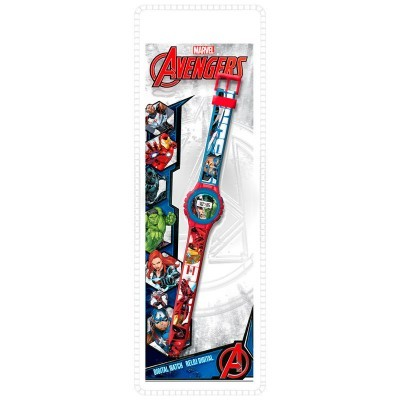 Relógio digital Ke02 Vingadores Avengers Marvel
